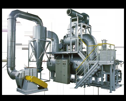 YKD連続高速撹拌乾燥機