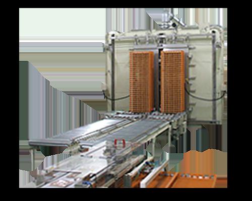 Continuous sterilization machine