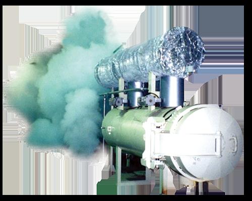 Steam blasting machine
