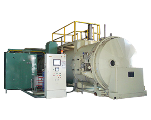 Vacuum and high frequency dryer