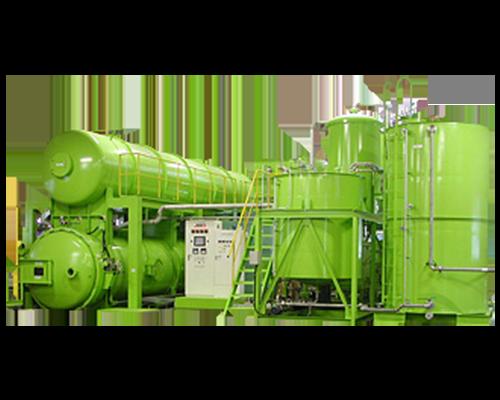 Vacuum and pressure impregnation machine for wood (Dry)
