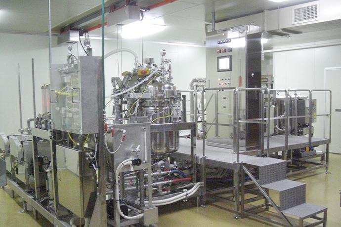 A large size machine