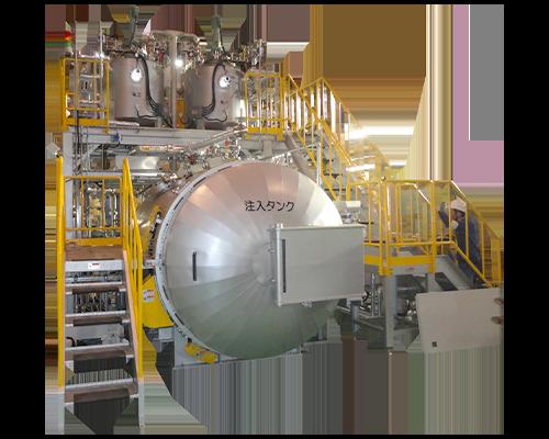 Sealing treatment machine
