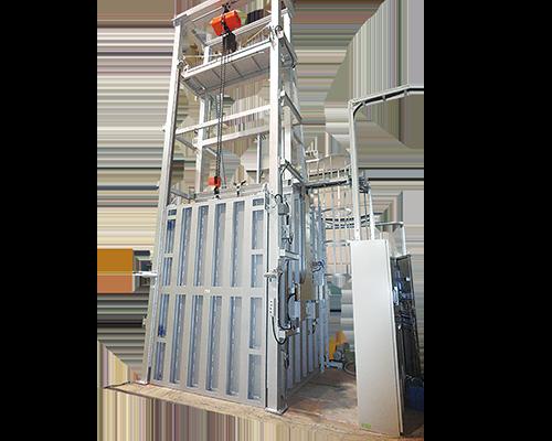 Vacuum drying machine for transformers